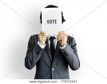 Vote Elect Decision Choice Political Registration