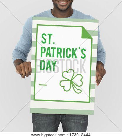 Saint Patrick Day Celebration Concept