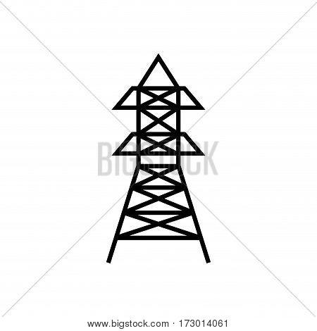 Radio antenna isolated icon vector illustration graphic design
