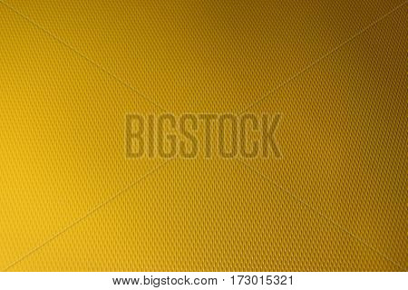 Yellow plastic surfaces seamless colors background vivid style and empty space for text.