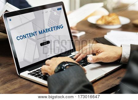Content Marketing Business Commercial Data