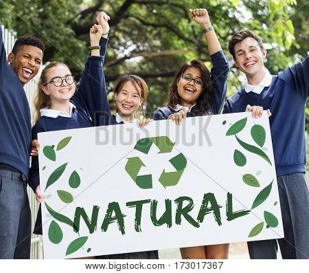 Ecology Fresh Green Living Lush Natural Icon