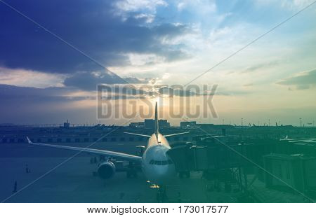 Airport Aircraft Airplane Aviation Transportation Travel
