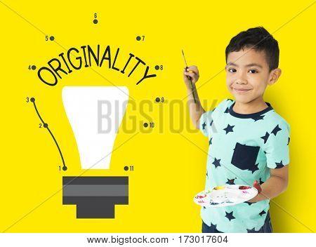 Original Novelty Fresh Genuine Ideas Icon
