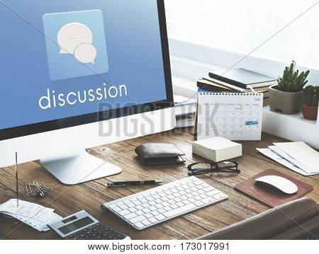 Talk Conversation Message Communication Discussion Word