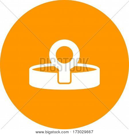 Headlamp, dentist, doctor icon vector image. Can also be used for dentist equipment. Suitable for mobile apps, web apps and print media.