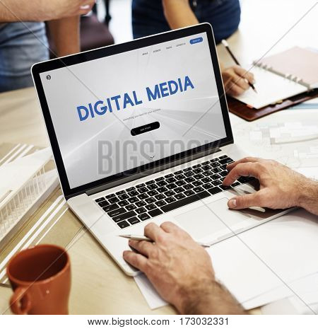 Digital Media Connection Information Technology