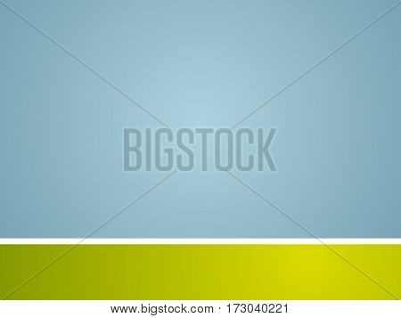 Abstract template background. Blue green and white strip