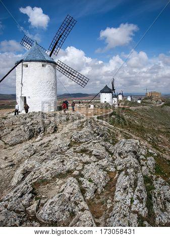Windmills At Consuegra, Spain