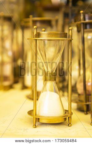 Brass Hourglass  Display
