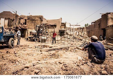 Kashgar Demolition