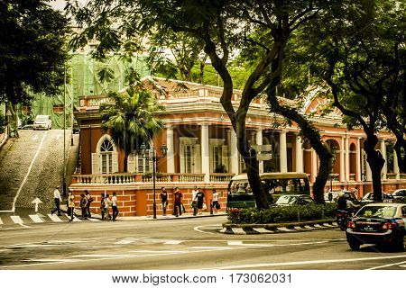 Street Scenes From Macau