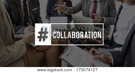 Colleagues Unity Collaboration Teamwork Working