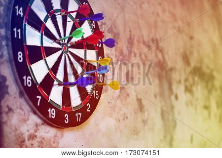 Dartboard Arrows Hit Target Game Activity