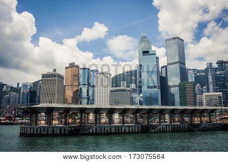 Hong Kong Central Piers