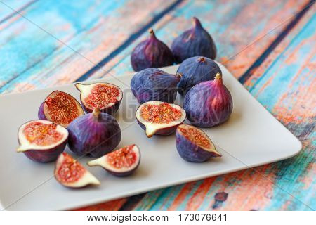 Figs On On Tree Surface