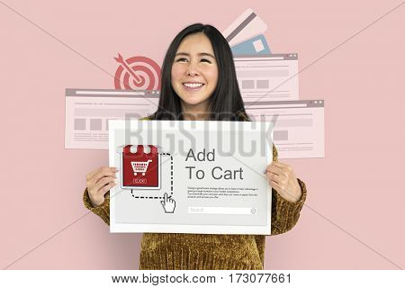 Add To Cart Order Shopping Coupon Icon