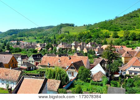 Biertan is one of the most important Saxon villages with fortified churches in Transylvania, having been on the list of UNESCO World Heritage Sites since 1993