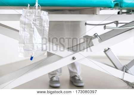 Nurse With Catheter