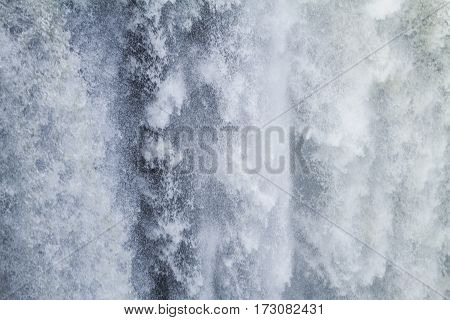 Detail Of A Waterfall