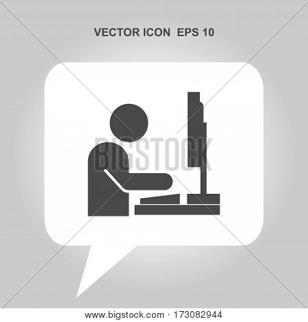 people working on the computer Icon, people working on the computer Icon Eps10, people working on the computer Icon Vector, people working on the computer Icon Eps, people working on the computer Icon Jpg