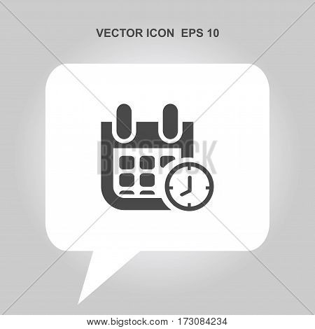 calendar with clock Icon, calendar with clock Icon Eps10, calendar with clock Icon Vector, calendar with clock Icon Eps, calendar with clock Icon Jpg, calendar with clock Icon Picture