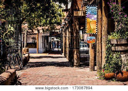Old Town Santa Fe
