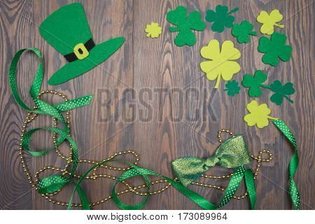 Handmade Decoration Saint Patricks Day. Irish Tradition