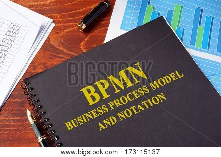 Book with title BPM Business Process Management.