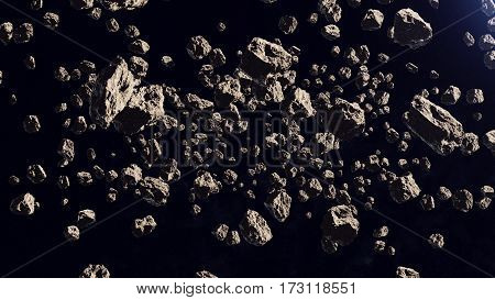 A Lot Of Asteroids In A Far Off Orbit