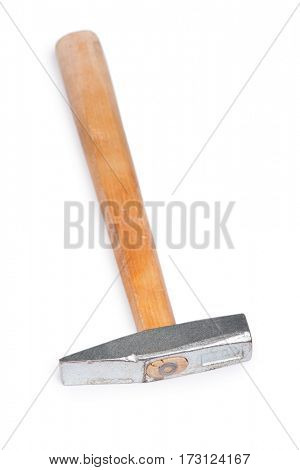 Small hammer isolated on white