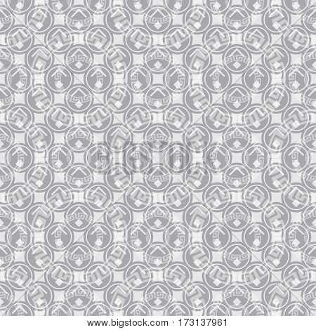 Fashion textile tile pattern, seamless vector background. Can be used like a swatch in your artwork. Just drag it to swatches.
