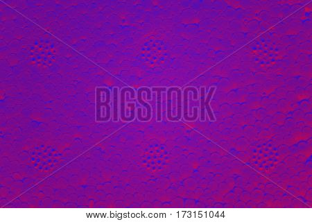 Color Toned Abstract Background Made Of Polystyrene Foam