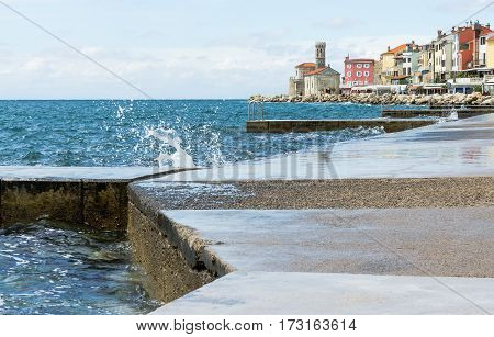 Seafront Of Old Town