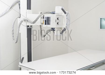 X-ray Machine In Examination Room