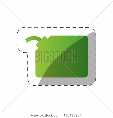 environment gallon gas green design vector illustration eps 10