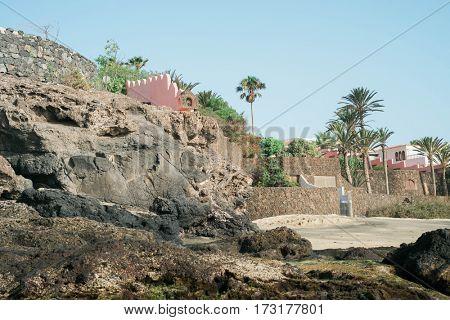 Landscape in Fuerteventura, Canary Islands