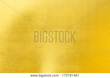 Sheet Metal Gold Solid Black Background