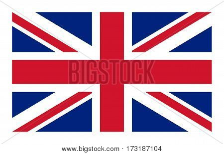 Vector flag of the United Kingdom (standard)