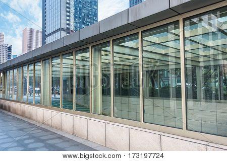 Entrance Of Subway Station in Hong KongChina.