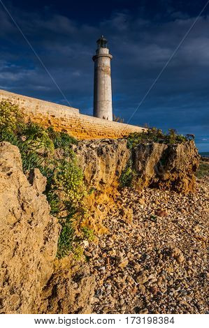 Italy, Sicily, Mazara Del Vallo (trapani Province) - Lighthouse Of Cape Granitola