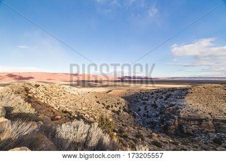 Arizona Winter Landscape