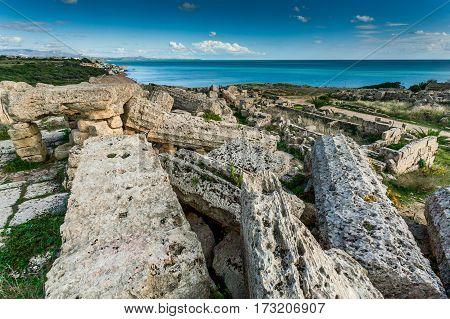 Sicily, Italy - Acropolis Of Selinunte