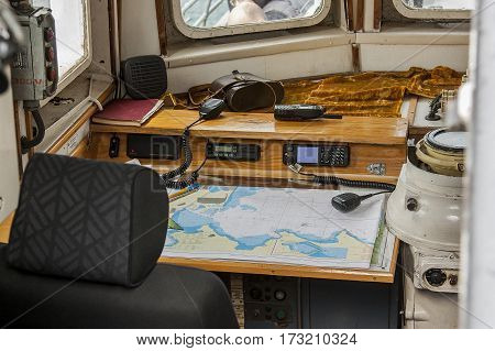 ship diary logbook ship boat water map radio sea