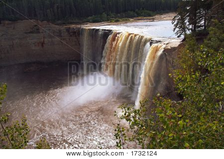 Alexandra Falls, Nwt, Northern Canada