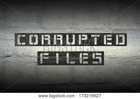Corrupted Files Gr