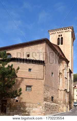 Santo Domingo De Silos Church, Moorish Style, Doroca, Zaragoza Province, Aragon, Spain
