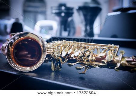 Piece Of Alto Saxophone