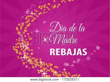 Dia De La Madre En Espanol Vector