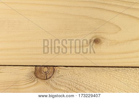 Wooden old yellow cracked background in texture